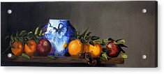 Acrylic Print featuring the painting Cornucopia by Barry Williamson