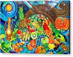 'cornucopia' Acrylic Print by Mario Villareal