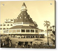 Acrylic Print featuring the photograph Coronado Hotel by Jasna Gopic