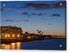 Coronado Sunset Acrylic Print