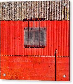 Corrugated Acrylic Print by Julie Gebhardt