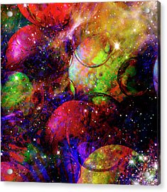 Cosmic Confusion Acrylic Print