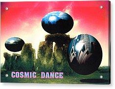 Cosmic Dance Acrylic Print