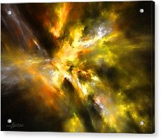 Cosmic Empire Acrylic Print by Maciek Froncisz