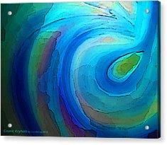 Cosmic Keyhole Acrylic Print by AnneLise McCoy