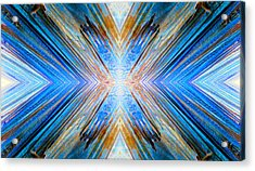 Cosmic Rays Acrylic Print by Sandro Rossi