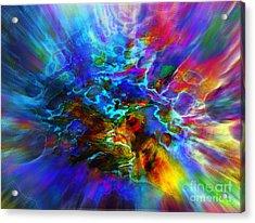 Cosmos   Acrylic Print by Irina Hays