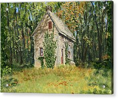 Cottage In The Woods At Fonthill Acrylic Print