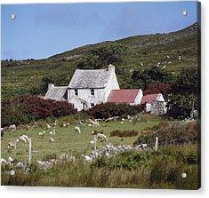 Cottage, Ireland Acrylic Print by The Irish Image Collection