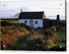Cottage, Near Dunquin, Dingle Acrylic Print