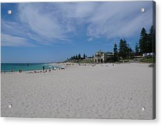 Cottesloe Beach Perth Acrylic Print by Gregory Smith