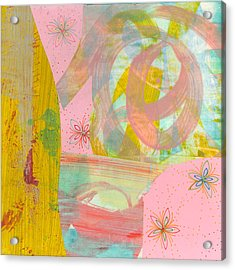 Cotton Candy Acrylic Print by Alexandra Sheldon