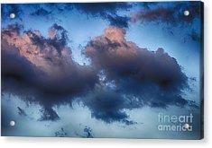 Cotton Candy Sunset Acrylic Print by Jeremy Linot