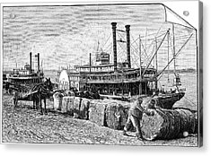 Cotton Industry, Early 20th Century Acrylic Print by