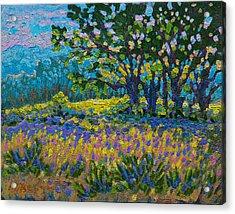 Cottonwood Meadow Acrylic Print