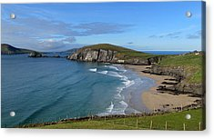 Acrylic Print featuring the photograph Coumeenole Beach by Barbara Walsh