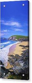 Coumeenoole Beach, Dingle Peninsula, Co Acrylic Print by The Irish Image Collection