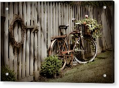 Acrylic Print featuring the photograph Country Bike by Michelle Joseph-Long