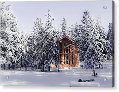 Acrylic Print featuring the photograph Country Christmas by Janie Johnson