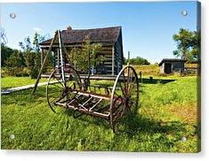 Country Classic Oil Acrylic Print by Steve Harrington
