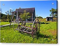 Country Classic Paint Filter Acrylic Print by Steve Harrington