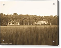 Acrylic Print featuring the photograph Country Estate by Shannon Harrington