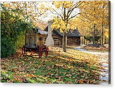 Country Living Acrylic Print by Franklin Conour
