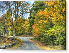 Country Road Acrylic Print by Chris Hartman Price