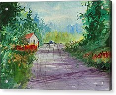 Country Road I Acrylic Print