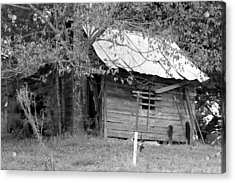Country Shed Acrylic Print by Suzanne  McClain