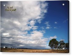 Acrylic Print featuring the photograph Country Sky by Vicki Ferrari