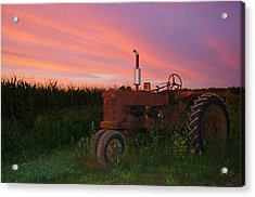 Country Sunset Acrylic Print by Corrie McDermott