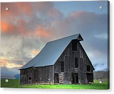 Acrylic Print featuring the photograph Country Sunset by Tyra  OBryant