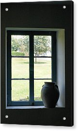 Acrylic Print featuring the photograph Country Window by Michelle Joseph-Long