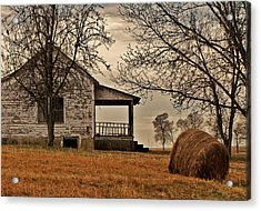 Country World Acrylic Print by Victoria Lawrence