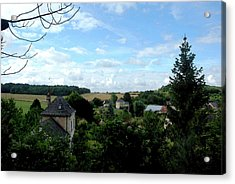 Acrylic Print featuring the photograph Countryside by Pravine Chester