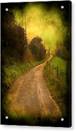 Countryside Road Acrylic Print by Svetlana Sewell