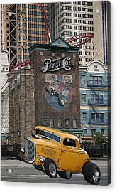 Coupe On Strip In Vegas Acrylic Print