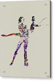 Couple Dancing Acrylic Print