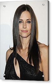 Courteney Cox At Arrivals For Fx Acrylic Print by Everett