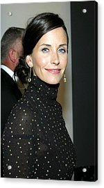 Courteney Cox At Arrivals For Kinerase Acrylic Print by Everett