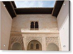 Courtyard Roof Alhambra Acrylic Print