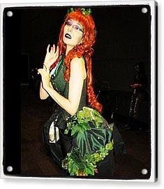 #couture Poison Ivy At #nycc #comiccon Acrylic Print