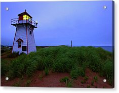 Cove Head Lighthouse Acrylic Print by Rick Berk