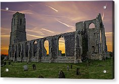 Acrylic Print featuring the photograph Covehithe Abbey - Suffolk by Rod Jones