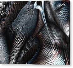 Covering Coals Acrylic Print by Steve Sperry