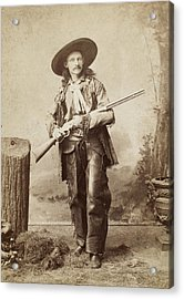 Cowboy, 1880s Acrylic Print by Granger