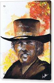 Cowboy Clint  Acrylic Print