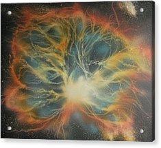 Crab Nebula 2 Acrylic Print by DC Decker