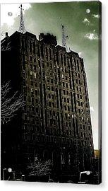 Crack Zombie Apocalypse 2 Acrylic Print by Scott Hovind